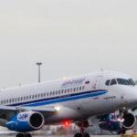 Самолет Sukhoi Superjet 100 впервые приземлился в аэропорту Праги